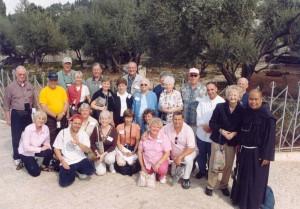Catholic Holy Land Pilgrimage Christopher Cross, KHS